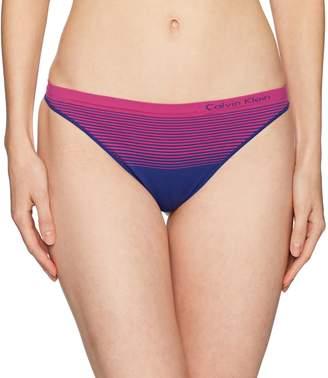 Calvin Klein Women's Seamless Thong Panty