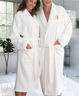 b0f7377e21 Linum Home Personalized 100% Turkish Cotton Terry Bath Robe