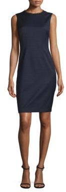 Elie Tahari Emory Sheath Dress $398 thestylecure.com