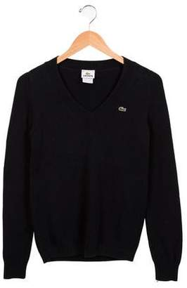 Lacoste Boys' V-Neck Sweater