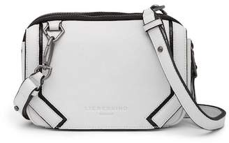 Liebeskind Berlin Contrast Piped Leather Crossbody Bag