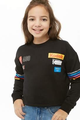 Forever 21 Girls Kodak Graphic Sweatshirt (Kids)