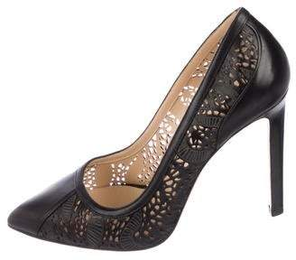 Chloé Gosselin Perforated Leather Pumps