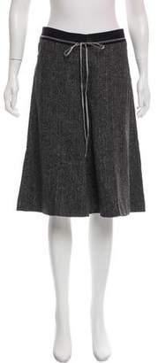 Schumacher Wool-Blend Wide-Leg Culottes