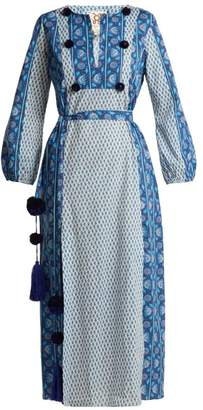Figue Ravenna Cotton Maxi Dress - Womens - Blue Stripe