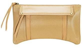LA Leather Handbags Three Pocket Tan Leather