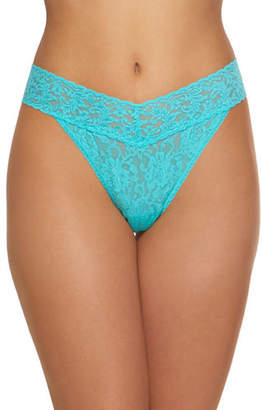 Hanky Panky Stretch Lace Traditional-Rise Thong