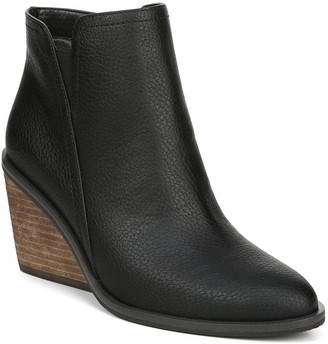 Dr. Scholl's Western-Inspired Wedge Booties -Morgan