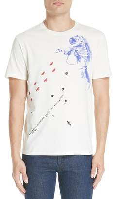 Raf Simons Slim Fit Astronaut Graphic T-Shirt