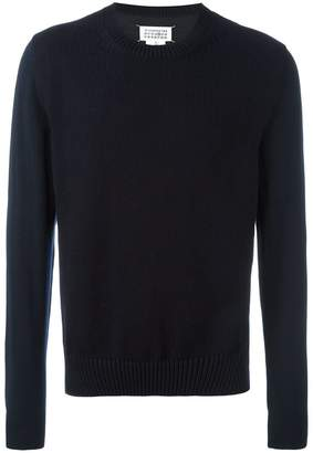 Maison Margiela thick knit front panel jumper