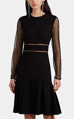 Jason Wu Women's Mesh-Inset Ponte Dress - Black Size 2