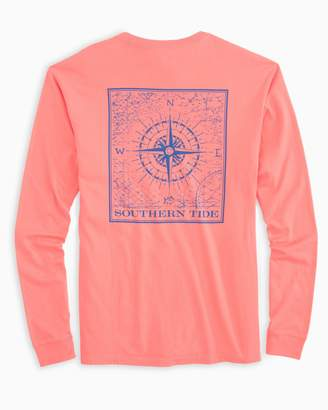 Southern Tide Southern Compass Long Sleeve T-Shirt