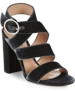 Gianvito Rossi Crisscross Ankle-Strap Sandals