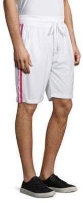 Pique Striped Shorts