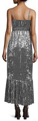Romeo & Juliet Couture Sleeveless Velvet Maxi Dress
