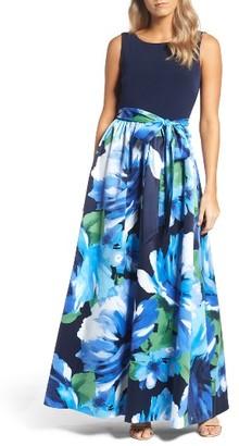 Women's Ellen Tracy Print Gown $198 thestylecure.com