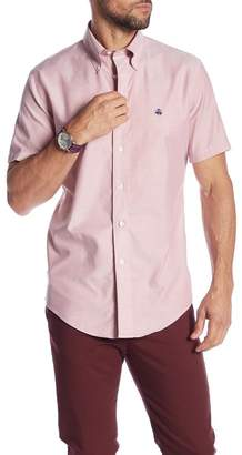 Brooks Brothers Short Sleeve Milano Fit Oxford Shirt