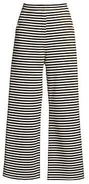 Max Mara Women's Ebbro Striped Sailor Pants