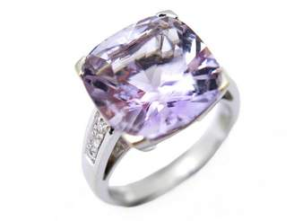 Mauboussin Gueule d'Amour Silver White gold Ring