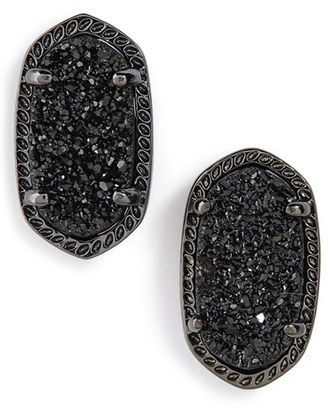 Women's Kendra Scott Ellie Oval Stone Stud Earrings $60 thestylecure.com