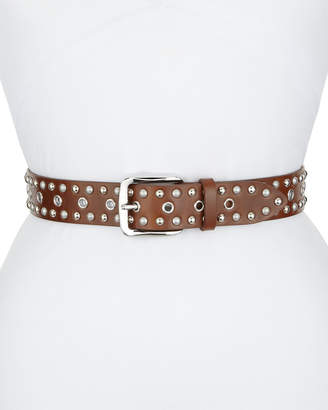 Etoile Isabel Marant Rica Studded Leather Belt