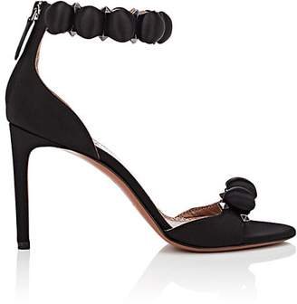 Alaia Women's Satin Ankle-Strap Sandals
