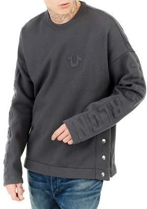 True Religion Oversized Fleece Knit Sweater
