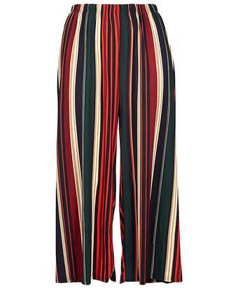 Izabel London Curve Striped Culottes