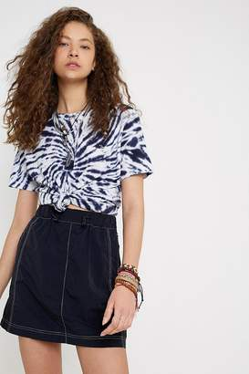 Urban Outfitters Black Tech Mini Skirt