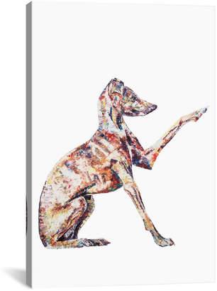 iCanvas icanvasart Italian Greyhound By Becksy
