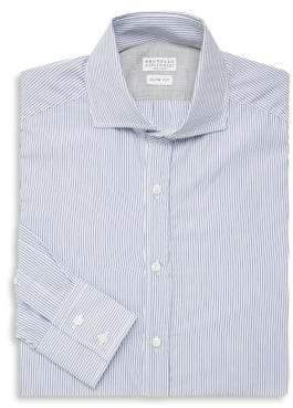 Brunello Cucinelli Stripe Dress Shirt