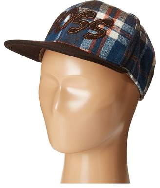San Diego Hat Company Kids Flat Bill Adjustable Cap Hat with Boss Cut Out Caps