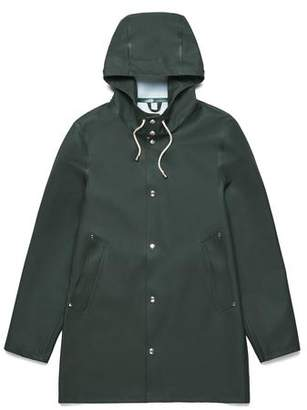Stutterheim Stockholm Basic Raincoat Green