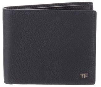 Tom Ford Leather Bi-Fold Wallet