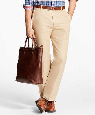 Brooks Brothers Milano Fit Linen and Cotton Chinos