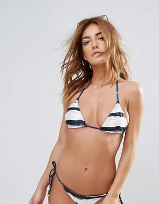 Wildfox Couture Stripe Reversible String Bikini Top