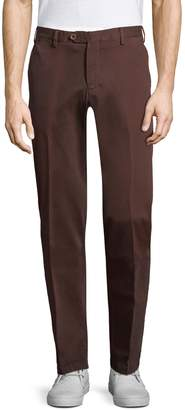 Isaia Men's Sport Cotton Trousers