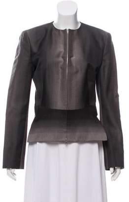 Jean Paul Gaultier Wool Patterned Blazer