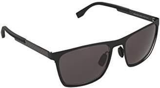 HUGO BOSS BOSS by Men's B0732S Rectangular Sunglasses