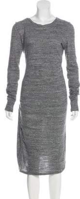 Etoile Isabel Marant Long Sleeve Knit Dress