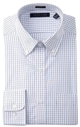 Tommy Hilfiger Tattersall Regular Fit Dress Shirt