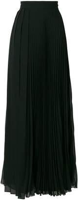 Max Mara long georgette skirt