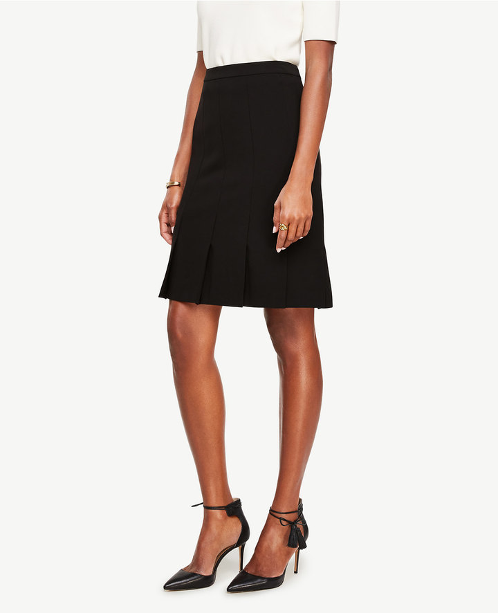Ann Taylor Pressed Pleat Skirt