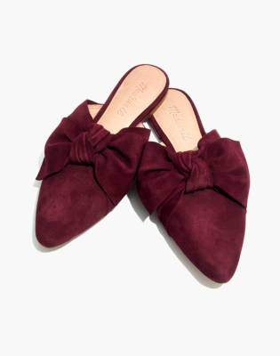 Madewell The Remi Bow Mule