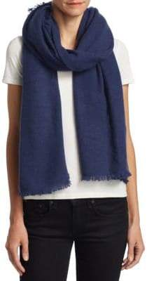 Saks Fifth Avenue Fringed Cashmere Scarf