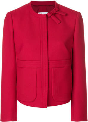 RED Valentino cropped bow detail jacket