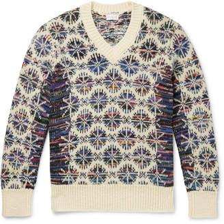 Dries Van Noten Wool-Jacquard Sweater