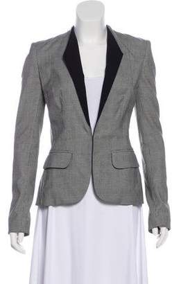 A.L.C. Wool-Blend Long Sleeve Blazer