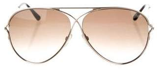Tom Ford Peter Aviator Sunglasses w/ Tags
