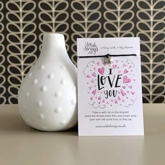 Nest 'I Love You' Wish Bracelet